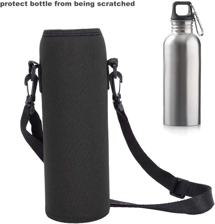 Water Bottle Thermal Holder Scald-Proof Cover Case Sling Bag for Outdoor Sports