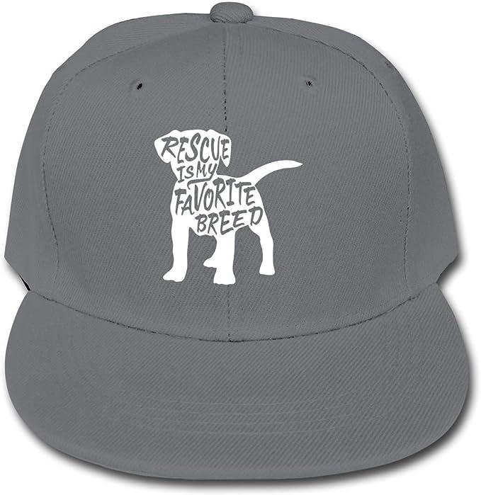El Perro del Rescate es mi Raza preferida Gorras de béisbol del ...