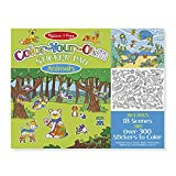Melissa & Doug Color Your Own Sticker Pad Animals Sticker Pad (Great Gift for Girls and Boys - Best for 4, 5, 6, 7, 8 Year Olds and Up)