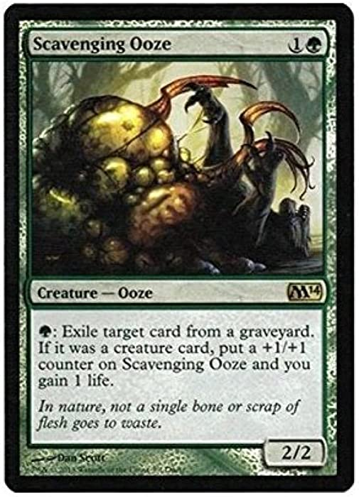 Magic The Gathering - Scavenging Ooze - Duels of The Planeswalkers 2014 Steam Promo - Unique & Misc. Promos - Foil