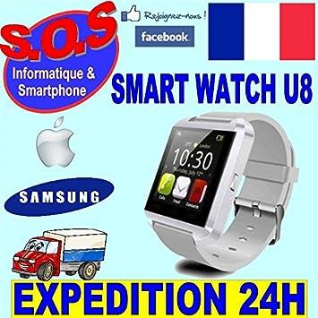 Reloj Inteligente SmartWatch U8 Blanca: Amazon.es: Electrónica