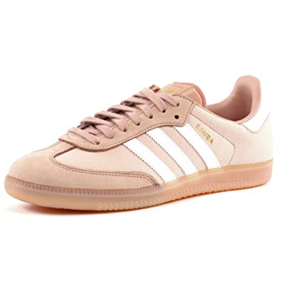 adidas Originals Baskets Samba Femme,Beige,41 1/3 EU: Amazon ...