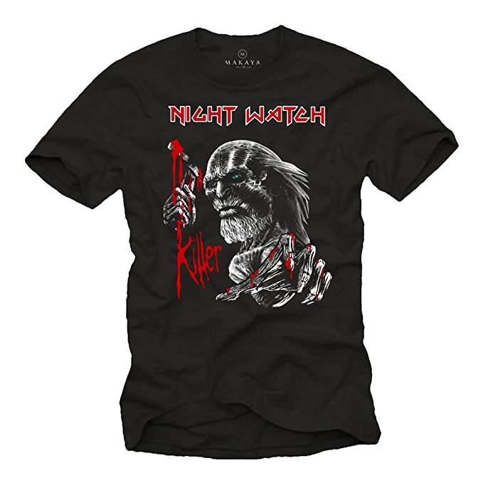 Night Watch Killer - Camisetas Originales Hombre: Amazon.es: Ropa y accesorios