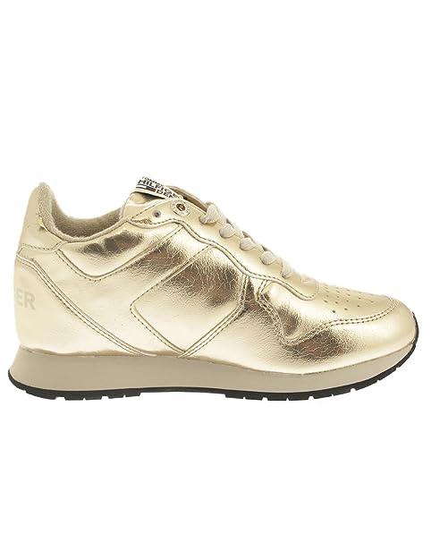 Zapatillas Tommy Hilfiger L1385ADY 3Z1 Dorado: Amazon.es: Zapatos y complementos