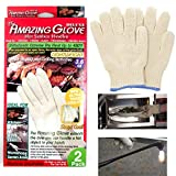 2 Pc The Amazing Glove Hot Resistance Surface Handler BBQ Grilling Kitchen 480 F