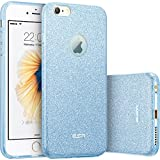 iPhone 6s Case, iPhone 6 Case, ESR Makeup Series Bling Glitter Back Cover Protective Bumper Slim Fit Case for 4.7 inches iPhone 6s (2015 Release)/ iPhone 6 (2014 Release) (Blue)