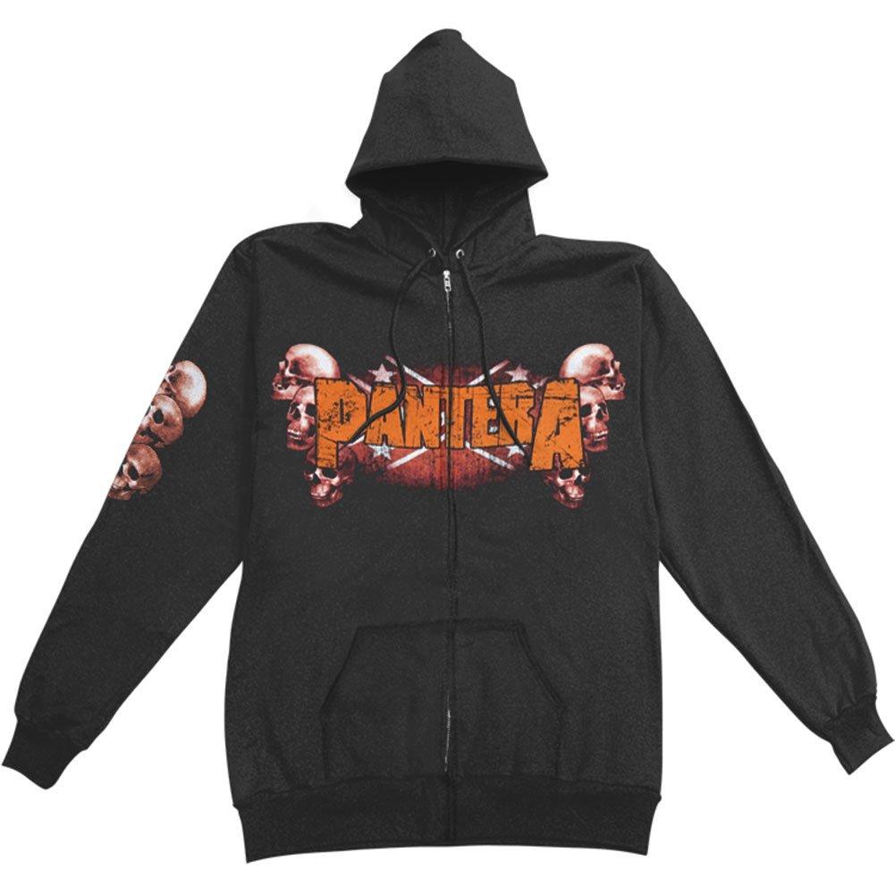 Pantera Skull Zip Hoodie Sweatshirt PantSkHoo