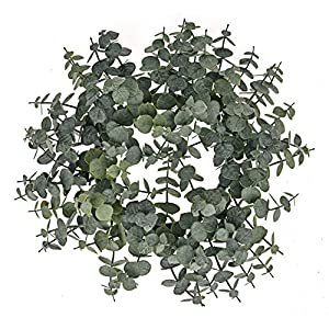 Floristrywarehouse Spiral Artificial Eucalyptus Wreath 12 Inches 77