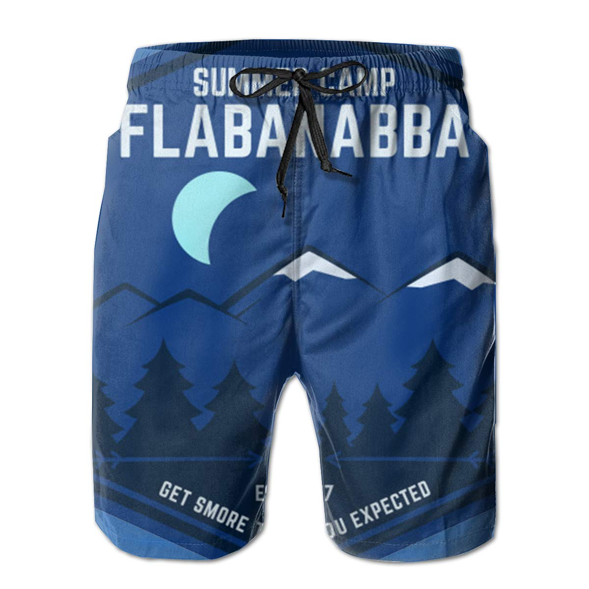 You Know And Good Summer Camp Flabanabba Mens Swim Trunks Bathing Suit Beach Shorts