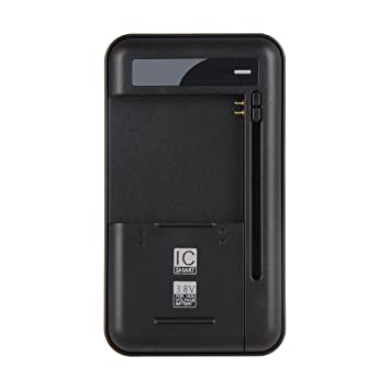 Onite Universal batería Cargador de Viaje Negro para Smartphone batería de Alto Voltaje Baterías Samsung Galaxy S3/S4/NOTE 3 N9000/Note 2 N7100/S3 ...