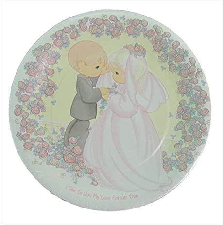 Precious Moments \u0027Love Forever True\u0027 Extra Large Paper Plates ...  sc 1 st  Amazon.com & Amazon.com: Precious Moments \u0027Love Forever True\u0027 Extra Large Paper ...