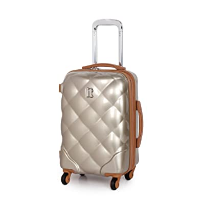 IT Luggage Quilted Light Gold Small 55cm/18