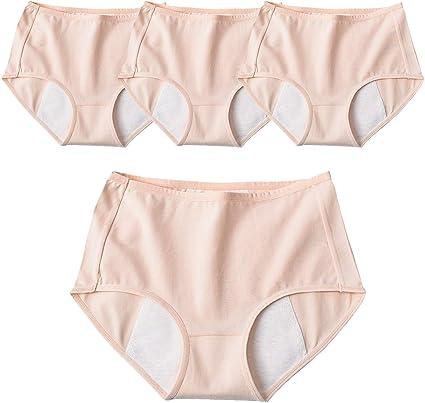 Women Menstrual Period Physiological Panties Leakproof Briefs Underpants Knicker