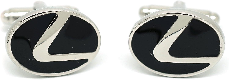 Teri's Boutique Men's Car Logo Design Lexus Luxury Stylish Dress Shirt Cufflinks w/Gift Box