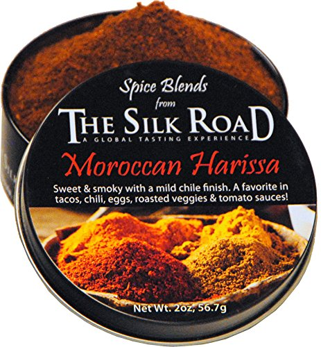 Moroccan Harissa Spice Blend from The Silk Road Restaurant & Market (2oz), No Salt - Moroccan Spice