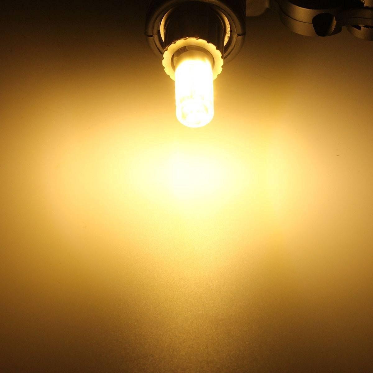 McDen G9 LED Dimmable Light Bulbs 6 Watt Warm White 3000K JCD T4 Bi Pin Base 60 Equivalent AC 110V 130V Pack Of 5 Amazonca Tools