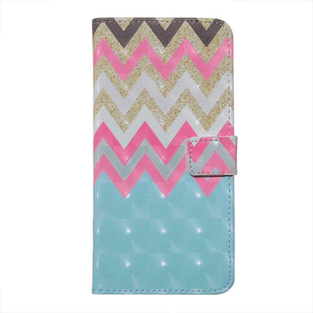 iPhone X Flip Case Cover for iPhone X Leather Kickstand Card Holders Extra-Shockproof Business Wallet case with Free Waterproof-Bag Delicate