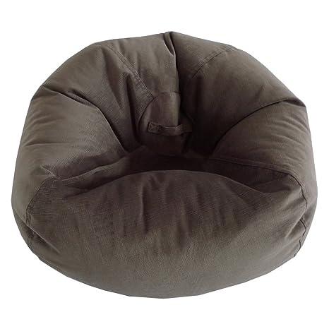 Amazon.com: ACE Casual Muebles Puf de terciopelo de gran ...
