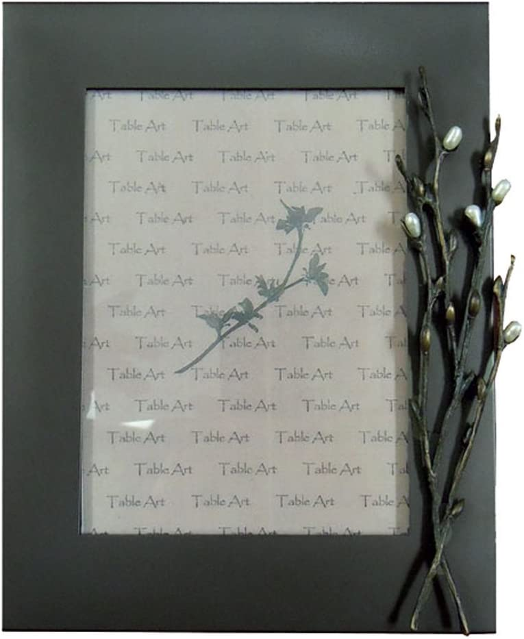 Pussy Willow 4x6 Pearl Frame by Michael Michaud for Silver Seasons Table Art