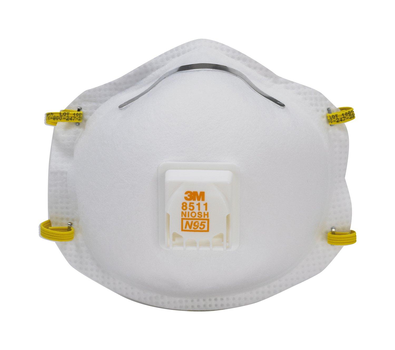 3M Valved Respirator 2