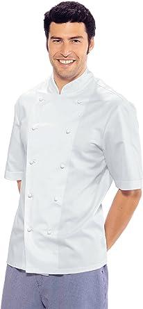 Isacco Roma – Chaqueta para chef cocinero, color blanco, de ...