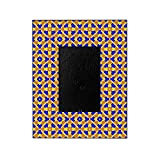 CafePress - Mexican Tile Pattern - Decorative 8x10 Picture Frame