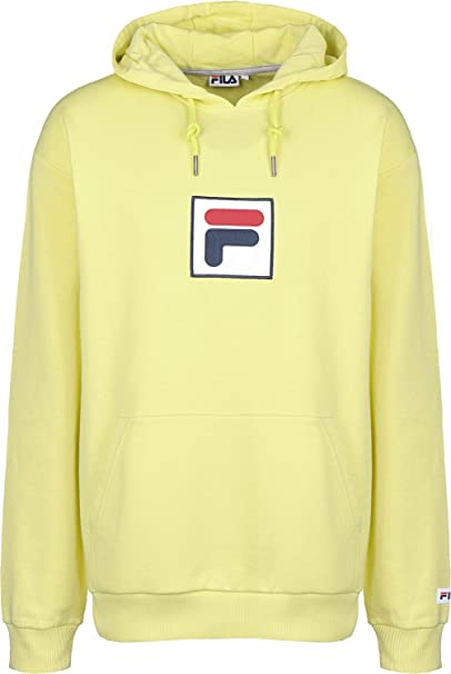 6f5cd3f7dd Fila Shawn Hoody Men Yellow M (Medium): Amazon.co.uk: Clothing