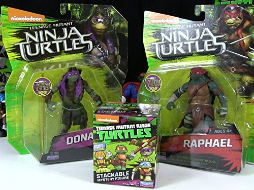 Review: Raphael and Donatello Movie Action Figure Review (Teenage Mutant Ninja Turtles Ninja Turtles)