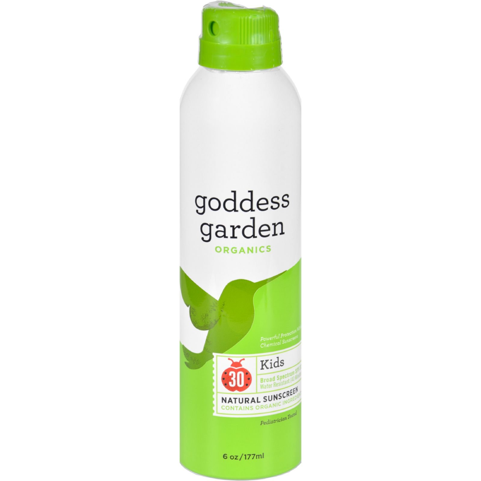 Goddess Garden Sunny Kids Natural Sunscreen Spf 30 Continuous Spray - 6 oz (pack of 6) image may vary