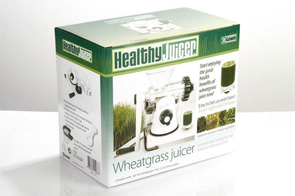 Lexen – Extractor de Zumos Manual – Healthy Juicer: Amazon.es ...