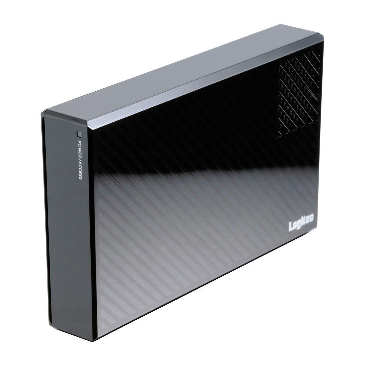 Logitec 外付けHDD 8TB eSATAUSB3.0 WD Gold搭載 冷却ファン付ハードディスク 日本製 LHD-EG80EU3FG B00RX8L3FI eSATAUSB3.0 / 通常モデル 6TB 6TB eSATAUSB3.0 / 通常モデル