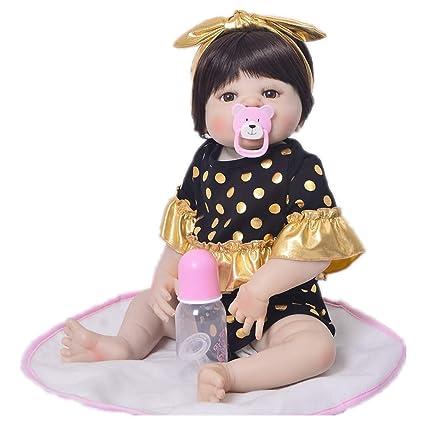 Reborn Baby 57 Cm Reborn Baby Full Body Suave Vinilo De ...