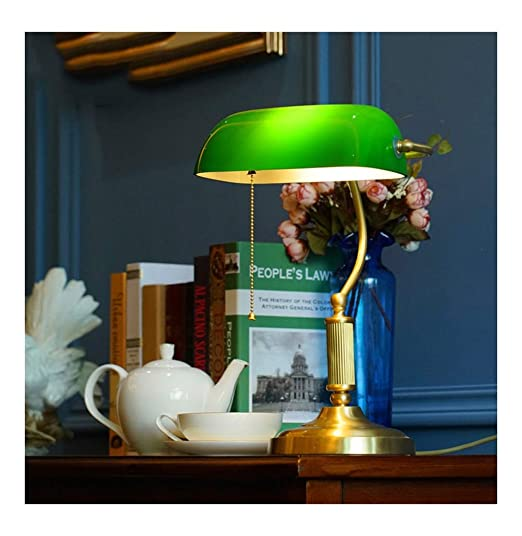 Uexfy Bonita lámpara de Mesa Lámpara de Mesa Dormitorio Americano ...