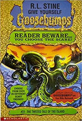 The twisted tale of tiki island give yourself goosebumps no 21 the twisted tale of tiki island give yourself goosebumps no 21 r l stine 9780590935005 amazon books fandeluxe Images