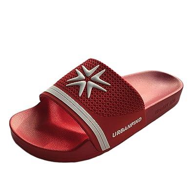URBANFIND Men's Athletic Slides Sandals Beach Shower Slippers | Sport Sandals & Slides
