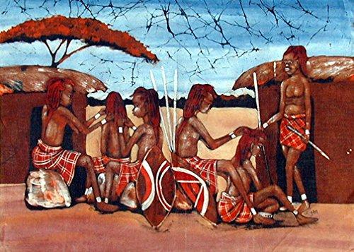 African Batik Art - 1