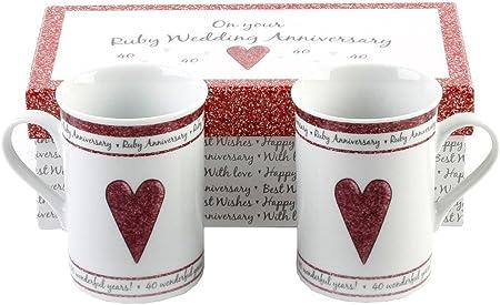 meilleur choix pas cher véritable Widdop & Bingham - 2 Tasses Mugs - Coffret Cadeau ...