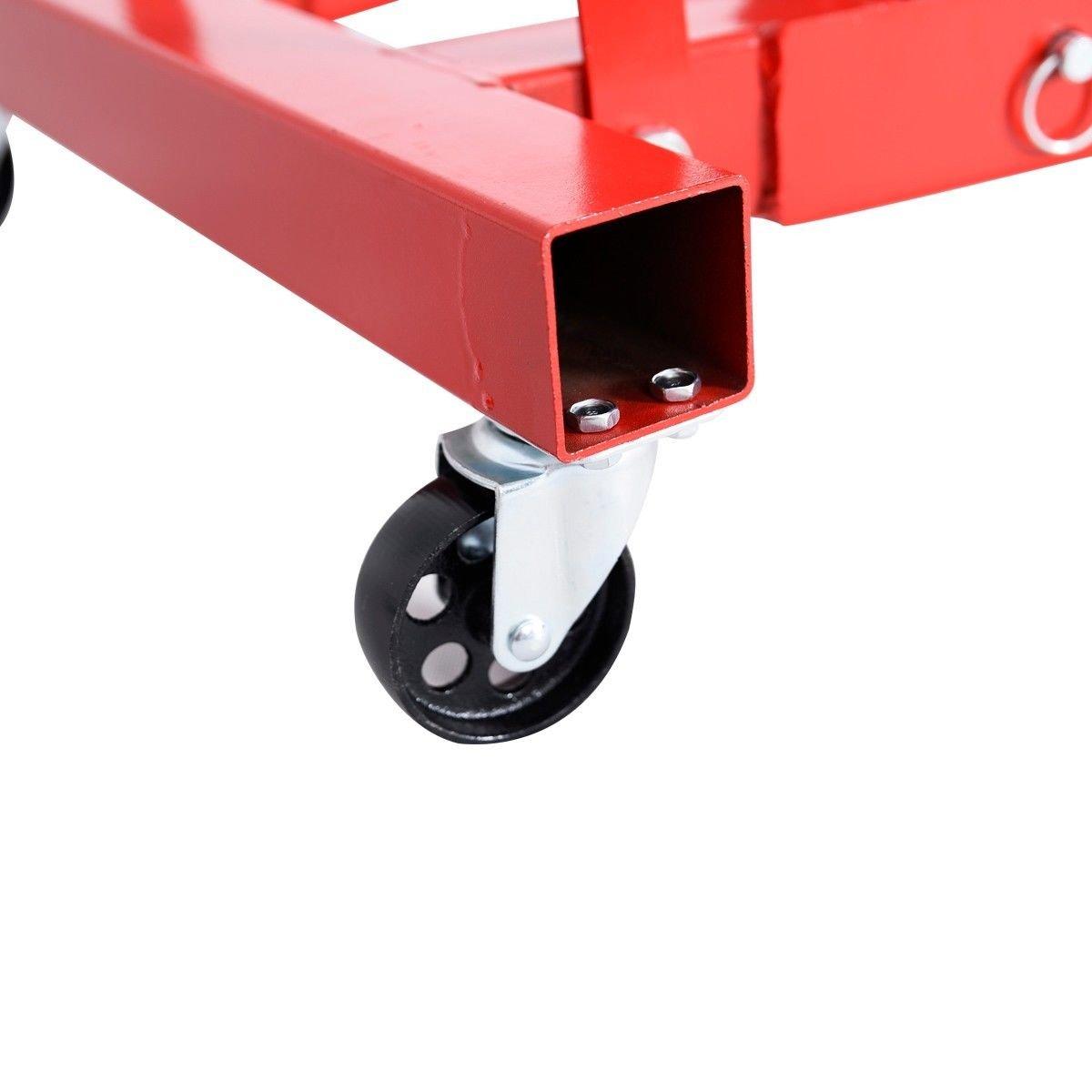 SKEMIDEX---New 2 TON Red Color 4000 lb Engine Motor Hoist Cherry Picker Shop Crane Lift And espresso machine portafilter And espresso machine part names And espresso machine filter basket by SKEMIDEX (Image #8)