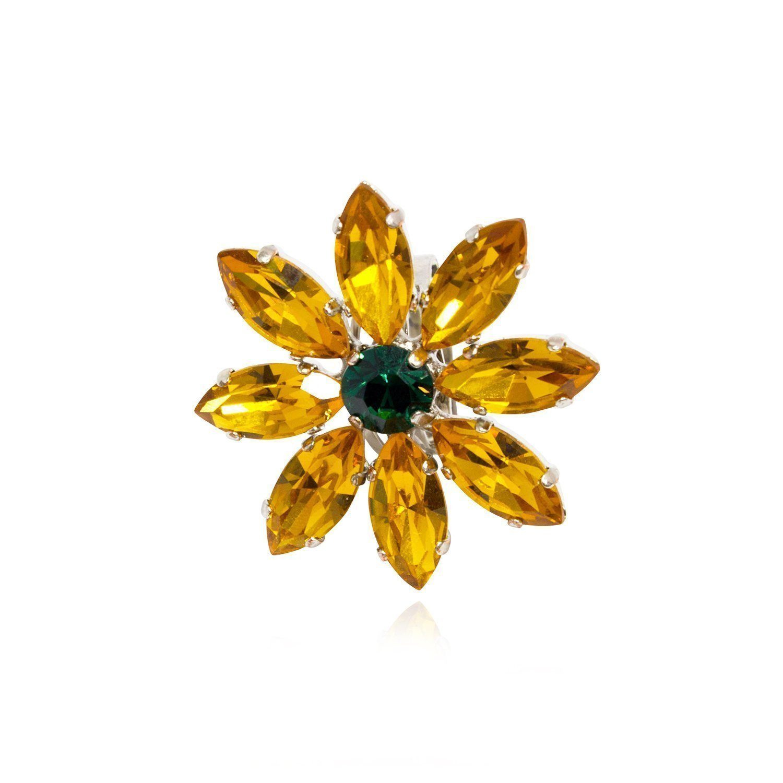 Rosaspina Firenze, Big Flower cocktail ring