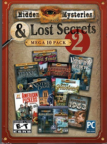 - Encore 37710 Hidden Mysteries & Lost Secrets Mega Pack Volume 2 Amr