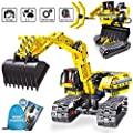 ZXICH Science Projects Kits for Kids,Building Excavator Sets for 7, 8, 9, 10 Year Old Boys & Girls, Construction Engineering Robot Toys for Kids Age 6-12, Educational STEM Toys Gifts for Kids