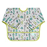 Bumkins Waterproof Sleeved Bib, Cacti (6-24 Months)