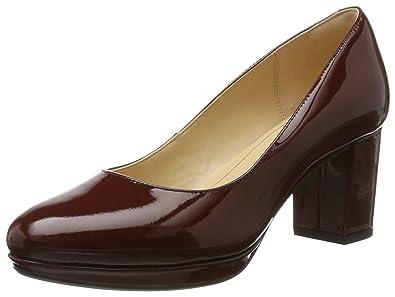 8ccd8417bd5b8 Amazon.com   Clarks Kelda Hope - Rust Patent (Red) Womens Heels   Shoes