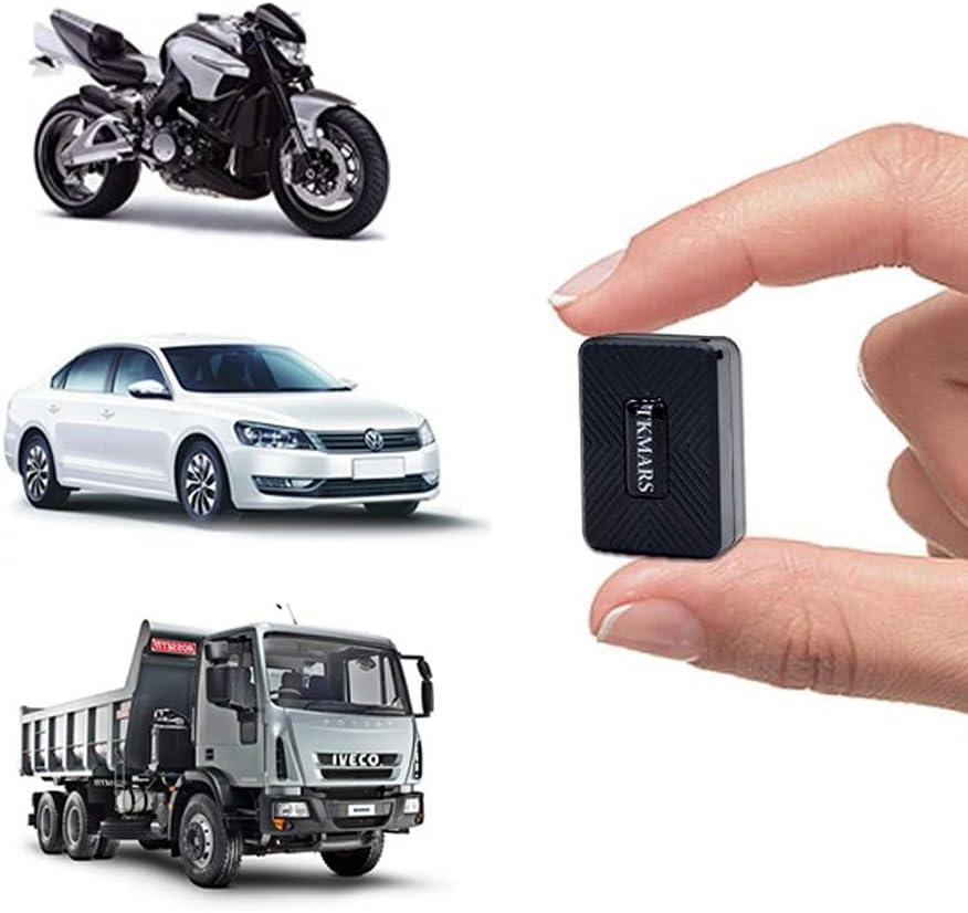 Hangang Mini Localizador GPS,Antirrobo GPS Localizador para Vehículos/niños con Seguimiento de Actividad Fuerte Imán Recargable GPS Tracker