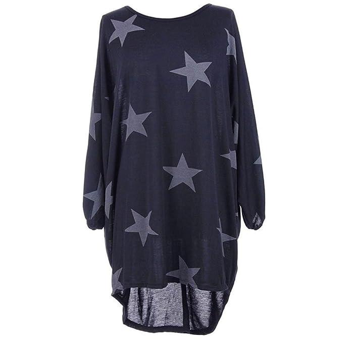 T Landove Pullover Autunno Lunga Donna Manica Inverno Ragazza Shirt wwRIOaq