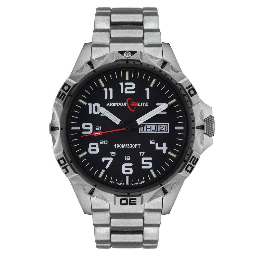 Armourlite Professional Series AL1401 Steel Tritium Watch