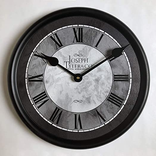 Grand Estate Wall Clock, Available in 8 Sizes, Most Sizes Ship The Next Business Day, Whisper Quiet.