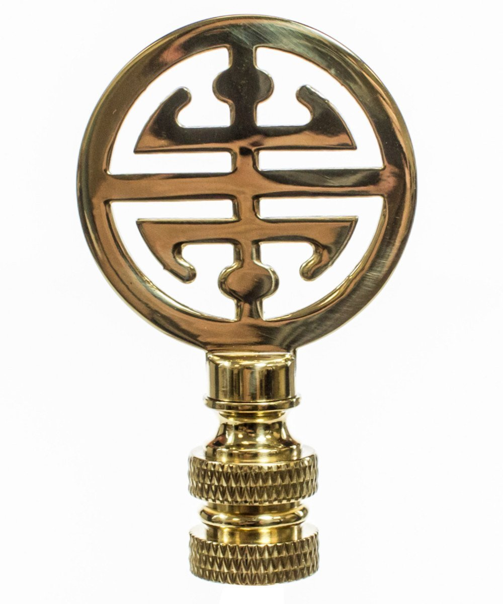 Polished Brass Asian Classic Finial