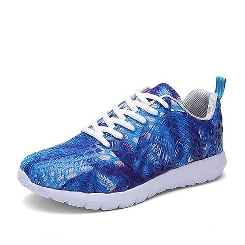 AILU Zapatillas deportivas de colores running unisex para adultos: Amazon.es: Zapatos y complementos