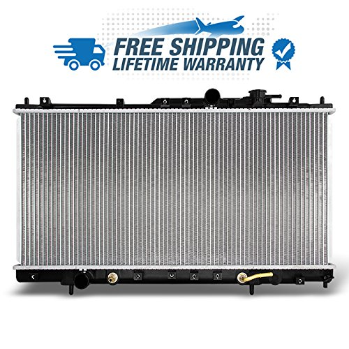 For L4 2.4L Sebring Eclipse Stratus Aluminum Radiator Direct Bolt On Replacement Assembly 2406 2438